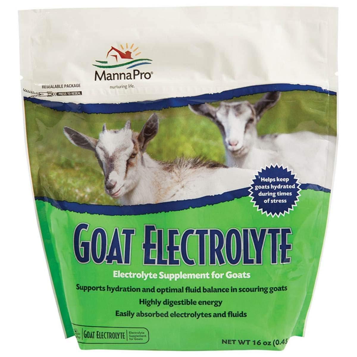 Manna Pro Goat Electrolyte, 1 Pound, Supplement for Proper Hydration