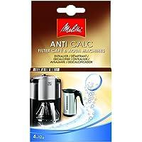 Melitta - Pastillas anticalc para filtros de máquinas