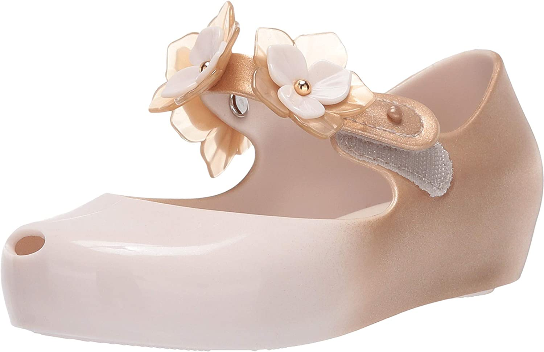 Melissa Girls Mini Ultragirl Flower II Ballet Flat