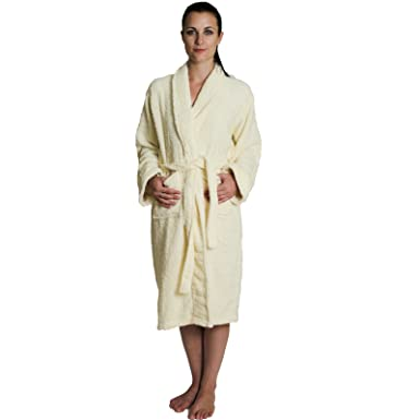 b3677e9fb2 NDK New York Women s and Men s Terry Cloth Bath Robe 100% Cotton at ...