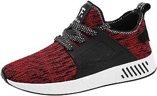 HCFKJ Scarpe Sportive Sneaker Scarpe Sportive Traspiranti in Mesh per Uomo all'aperto Moda Casual Scarpe Casual