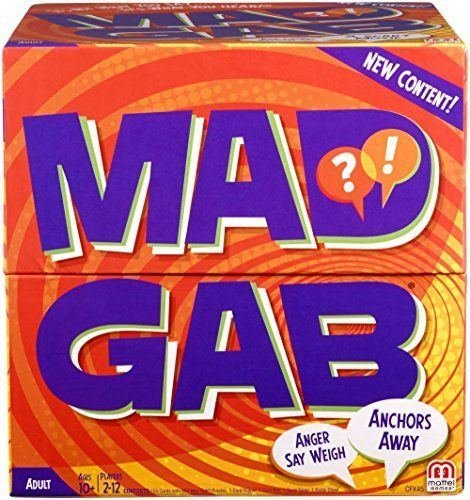 Mad Gab Game,New