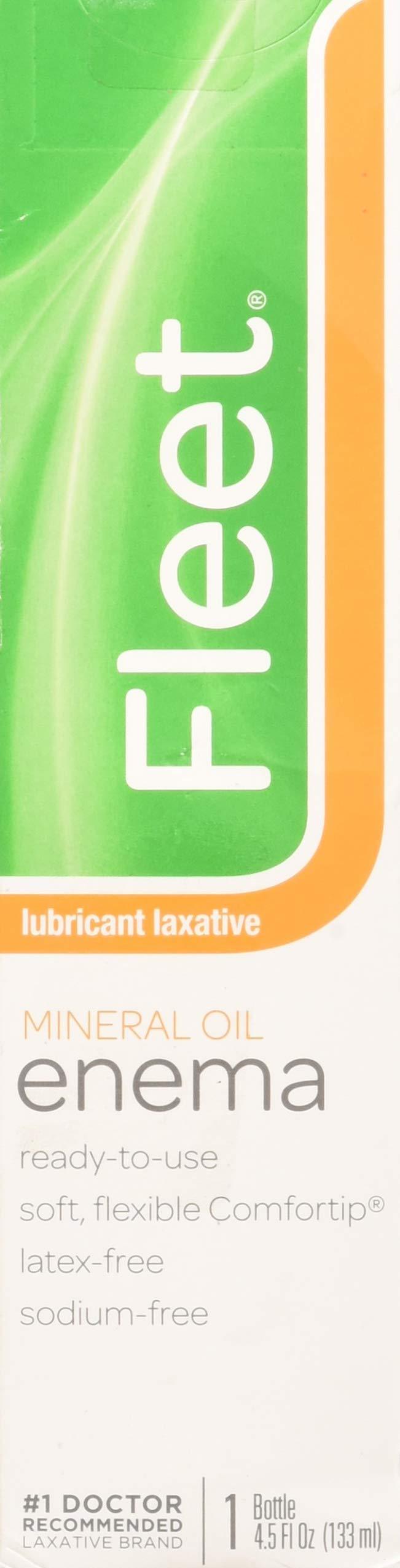 Fleet Mineral Oil Enema, Latex Free - 4.5 fl oz by Fleet (Image #1)