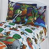 ninja bedding twin - Teenage Mutant Ninja Turtles Kids Sheet Set 3 Piece Boy Bedding Set TMNT Twin Size