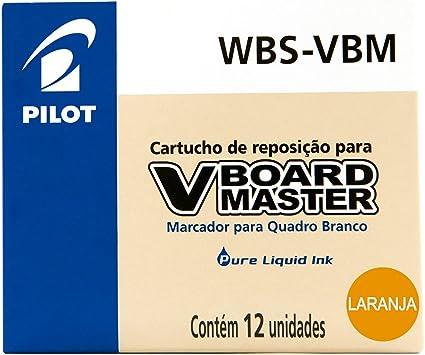 RECAMBIO ROTULADOR PILOT VBOARD MASTER TINTA LIQUIDA NARANJA (12 ...
