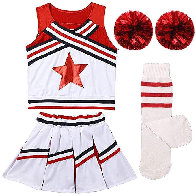 Amazon.com: Conjunto de calcetines para niñas con falda y ...