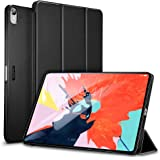 "ESR Yippee Trifold Smart Case for iPad Pro 11"", Lightweight Stand Case,Auto Sleep/Wake[Apple Pencil Charging not Supported],Microfiber Lining, Hard Back Cover for iPad Pro 11"" 2018, Black"