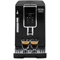 De'longhi Dinamica Ecam350.15.B - Cafetera superautomática, 1450w, panel control intuitivo táctil lcd, dispositivo de…