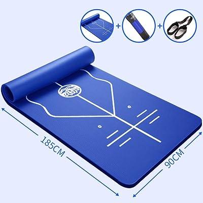 185cm * 80cm Yoga Mats débutants Auxiliaire Body Bit Line Fitness Mat