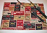 BBQ Print Placemats (Individually Priced)