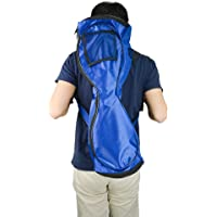 Portable Self Balancing Scooter Backpack - Boiling Glacier Waterproof & Wearproof Oxford Fabric Sports Bag for 6.5-inch Mini Two-wheel Smart Motion Sensing Electric Kick Scooter Board (Blue)