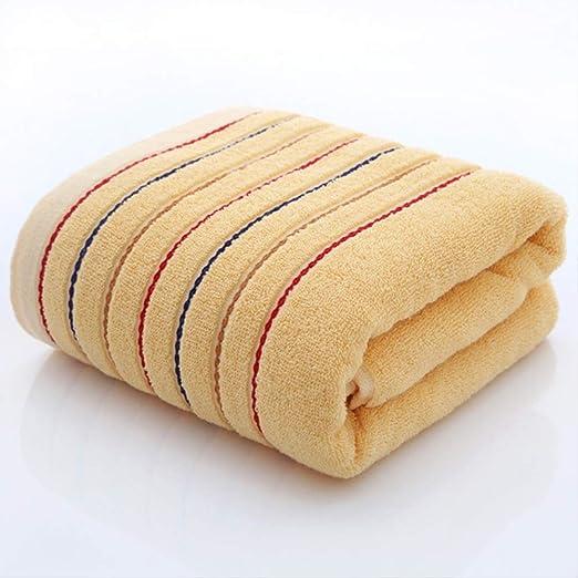 100% Toalla del algodón de Rayas Conjunto, baño Toallas Suaves ...