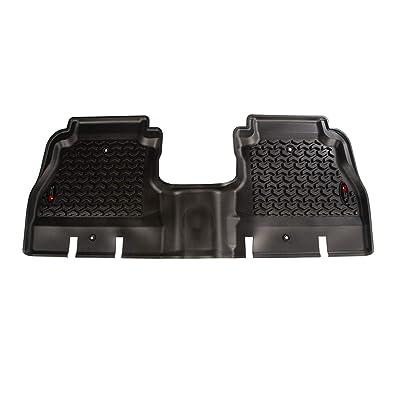 Rugged Ridge 12950.48 Black Rear Floor Liner for 18-18 Jeep Wrangler Unlimited JLU (4 Door): Automotive