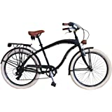 Via Veneto By Canellini Bicicleta Bici Citybike CTB Hombre Vintage Via Veneto American Cruiser Aluminio