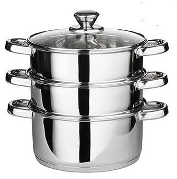 Generic Dampfgarer 24 Cm 4 Herd Topf Set Pfanne Kochen Lebensmittel