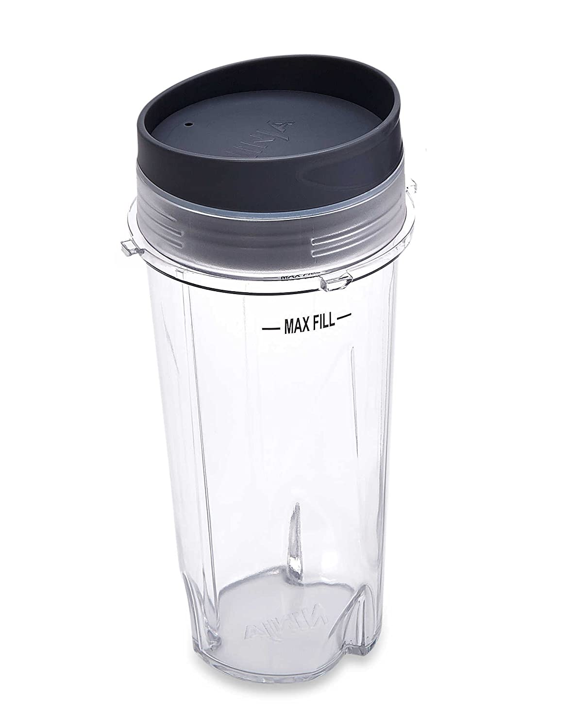 Ninja Blender Cup - 16 oz Single Serve to go Cup with Lid / 3 inch Diameter- fits Ultima & Professional Series Nutri Ninja XWP002CS