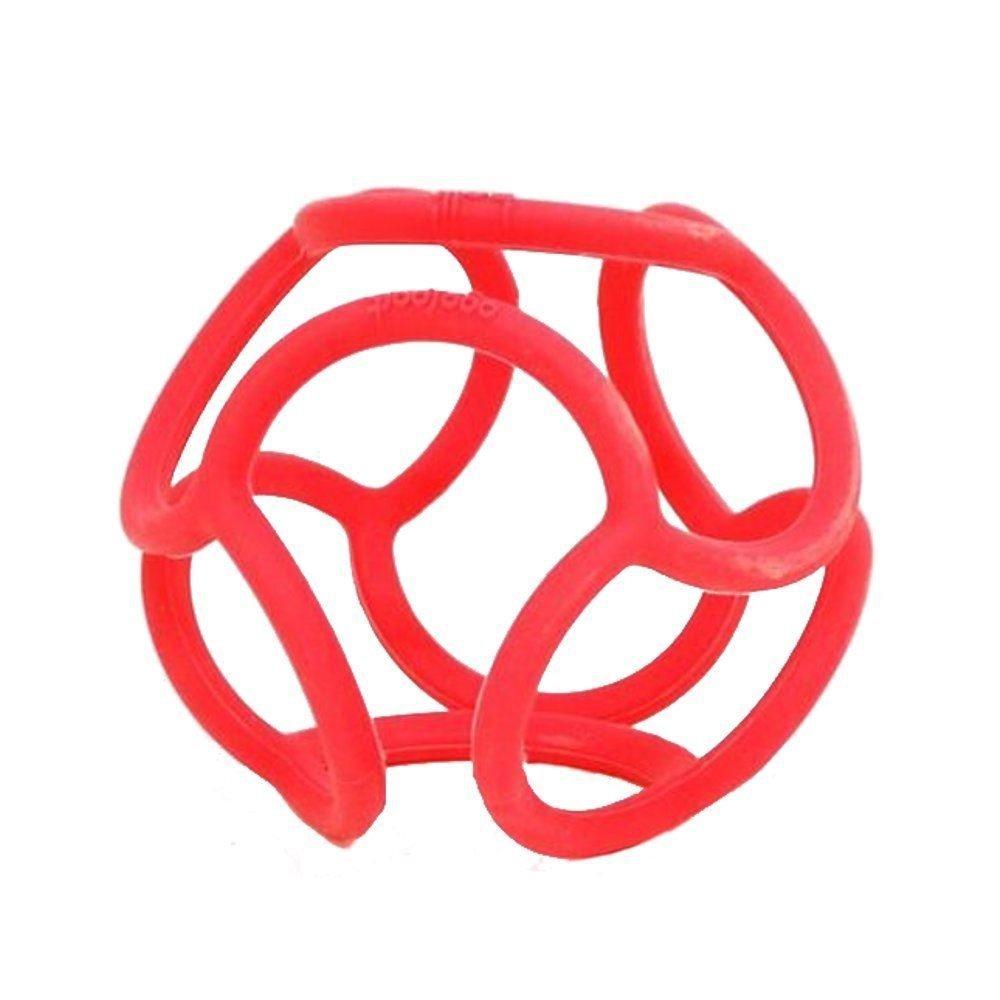 Bolli Mordedor elá stico para bebé s, Color Rojo (OgoSport BL002RD)