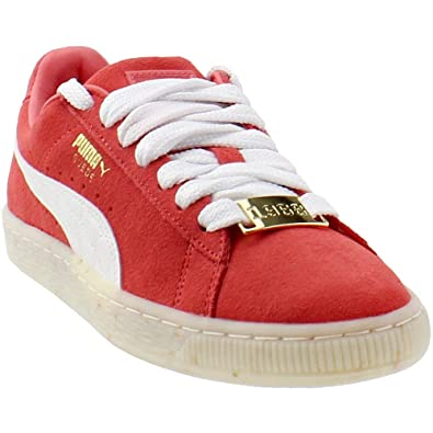 0a4be0aa7b4 PUMA Women s Suede Classic Bboy Fab Spiced Coral White Red Dahlia 6 B US   Buy Online at Low Prices in India - Amazon.in