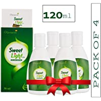 Nectarea Sweet Light Drops 120 ml Zero Calorie Sugar Free Liquid Sweetener - Pack of 4 (2400 Drops)