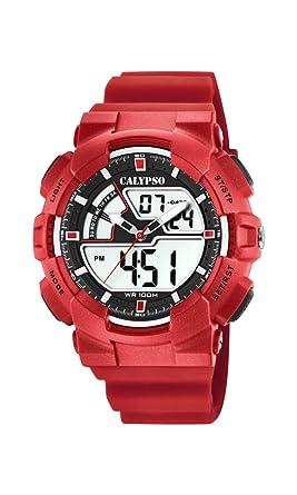 Calypso Watches Reloj Analógico-Digital para Hombre de Cuarzo con Correa en Plástico K5771/2: Amazon.es: Relojes