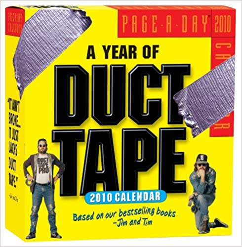 A Year of Duct Tape Calendar 2010