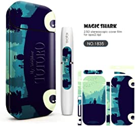 Skin Protection Sitckers for IQOS 2.4 Plus Protective Case Various Pattern 3M Adhesive Skin Cover(1836)