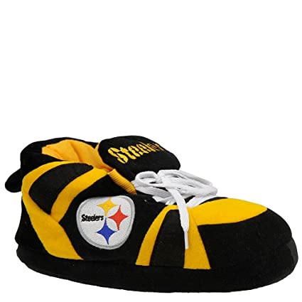 91cd690fb81 Comfy Feet - PST01XL - Pittsburgh Steelers Slipper - X Large - 10 - 11.5   Amazon.co.uk  Sports   Outdoors