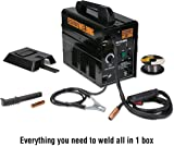 lincoln electric power mig® 180 dual mig welder k3018 2 tools125 amp 120 volt 20 amp flux core wire welder