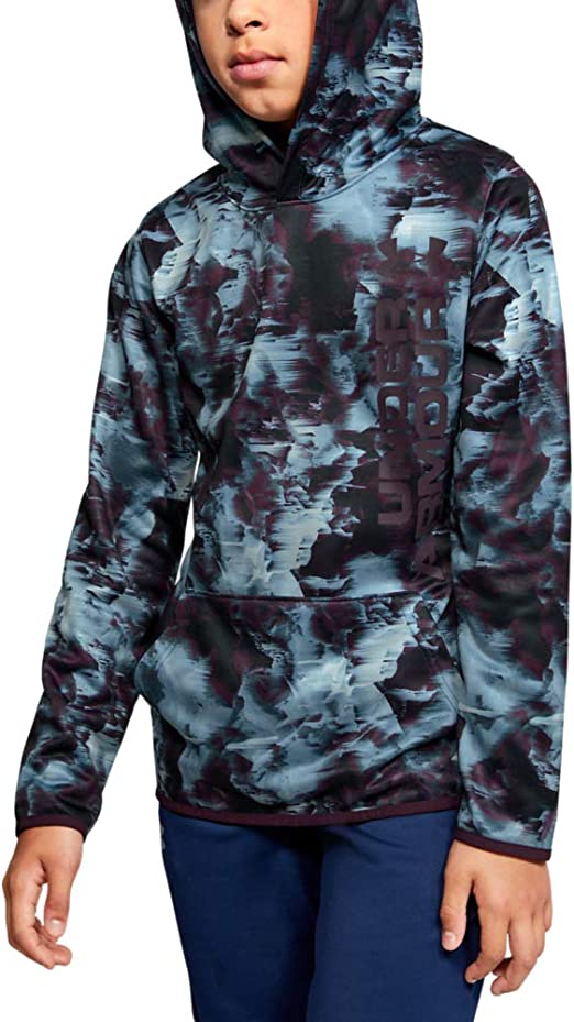 Under Armour boys Armour Fleece Novelty Hoodie
