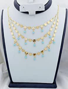 Chinese gold necklace - does not change color