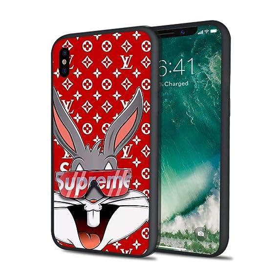 newest 38def d1cf9 Super Sup Supre Sumpre Hard PC Fashion Luxury Case iPhone X 7 8 6 6s Plus  XS XS MAX (iPhone Xs Max)