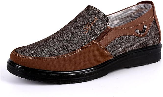 Chaussures Bateau en Su/édine Slip on Chaussure de Ville Mode Oxford Confortable D/écontract/é Marche Fitness Sport L/éger Printemps /Ét/é Gracosy Mocassins Hommes