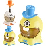 Electric Cartoon Pencil Sharpener Automatic Pencil Cutter for Kids Desktop School Stationery Office Supplies