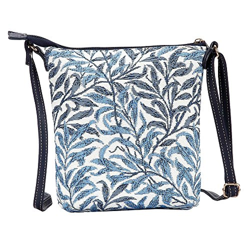 Body Bough Tapestry Willow Signare New Women Cross Satchel Lightweight Bag Sling xRgvqFwTU