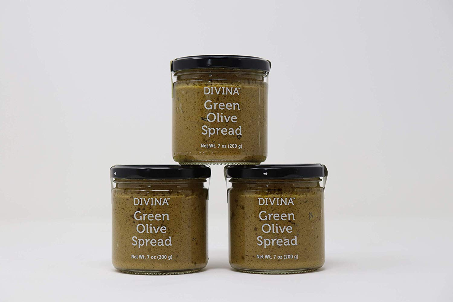 Divina Green Olive Spread, 7 Oz, 3 pack by Divina