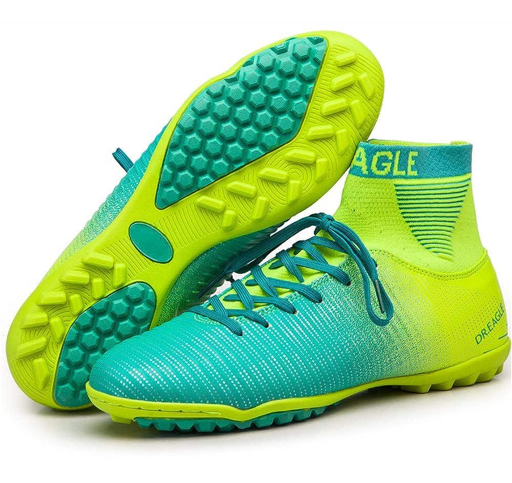 9ad32cd0832cc Amazon.com | LEODI High Ankle Turf Futsal Boots Soccer Shoes Men ...