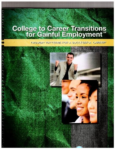 College To Career Transitions For Gainful Employment