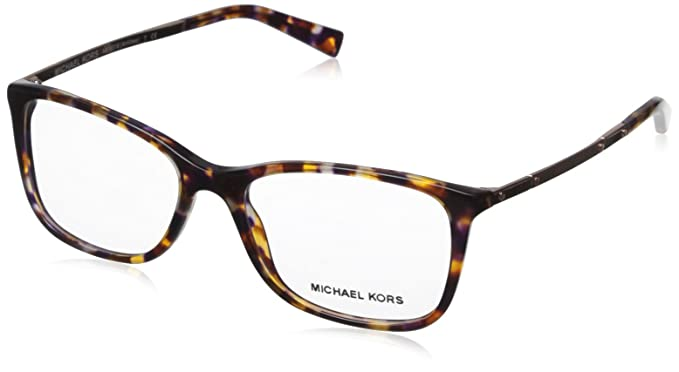 5108402ef2 Image Unavailable. Image not available for. Color  Michael Kors Antibes  Eyeglasses MK4016 3032 Sunset Confetti Tortoise ...