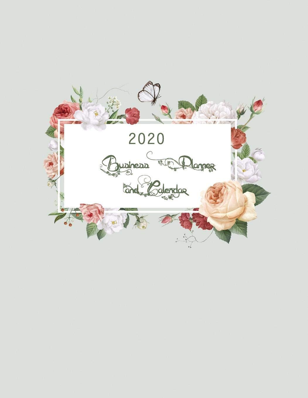 Calendar 2020 Business Card July December 2020 Business Planner and Calendar: January 2020 to December 2020