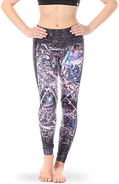 Alexandra Collection Youth Dance Athletic Mid-Rise Leggings