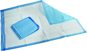Medpride Disposable Underpads 23'' X 36'' (50-Count) Incontinence Pads, Chux, Bed Covers, Puppy Training | Thick, Super Absorbent Protection for Kids, Adults, Elderly | Liquid, Urine, Accidents