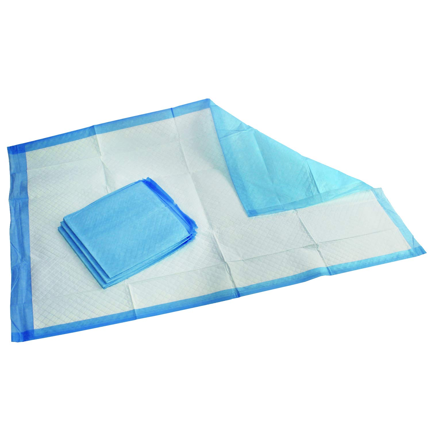 Medpride Disposable Underpads 23'' X 36'' (50-Count) Incontinence Pads, Bed Covers, Puppy Training | Thick, Super Absorbent Protection for Kids, Adults, Elderly | Liquid, Urine, Accidents by MED PRIDE