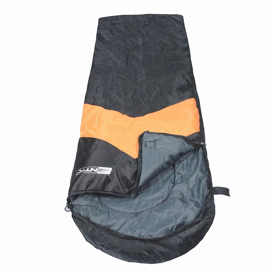 NTK Viper Lightweight Sleeping Bag for Adults | Hybrid Shaped Ultralight Camping Sleeping Bags for Hiking and Backpacking in Warm Weather | Extra Portable ...