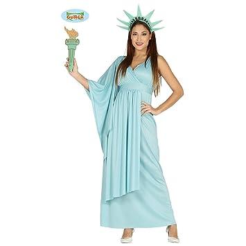 Disfraz Señora de la Libertad - M (ES 40/42) | Traje Estatua ...
