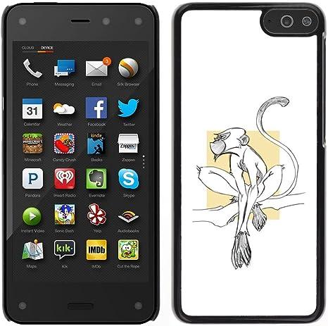 For Amazon Fire Phone 4.7 Case , Monkey Cute Tiny: Amazon.co.uk: Electronics