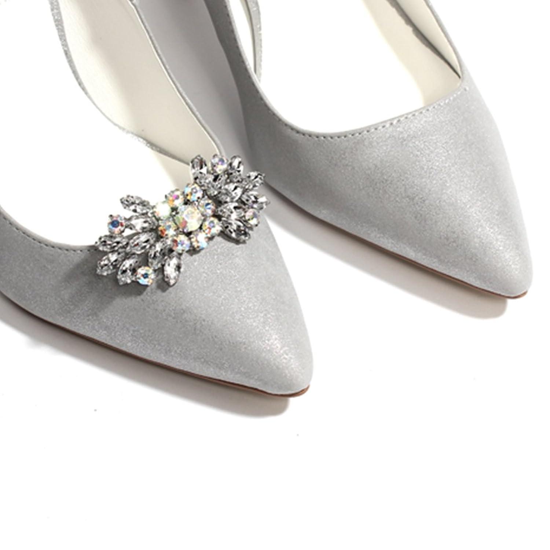 FROUFROUZ - Mujer Clips de Zapatos Decoraciones Prendedores Adornos para Zapatos Bonnie - 1 Par ClxVhK