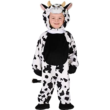 toddler cuddly cow costume size 3t 4t - Halloween Costume Cow