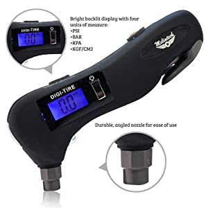McLintech 5 in 1 Tire Pressure Gauge is for ordinary car owners, including beginners.