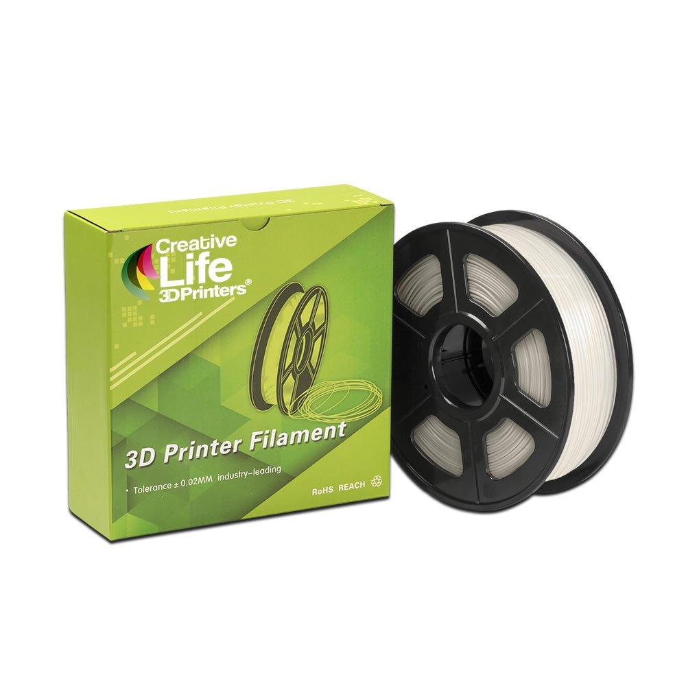 Creative Life 3D Printers - PLA Filamento 3D, Transparente, Ø 1.75 ...