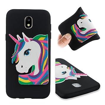 Samsung Galaxy J7 2017 Carcasa, 3D unicornio Unicorn funda ...